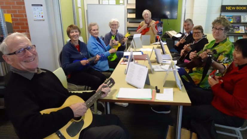 Tawa U3A Ukulele Group