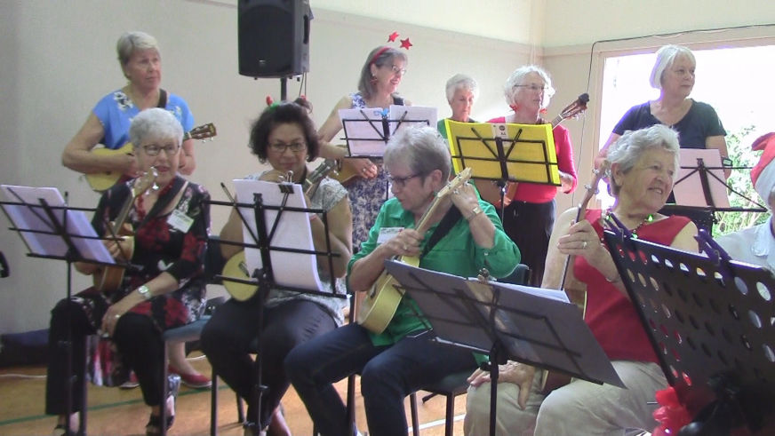 U3A Browns Bay UKULELE GROUP