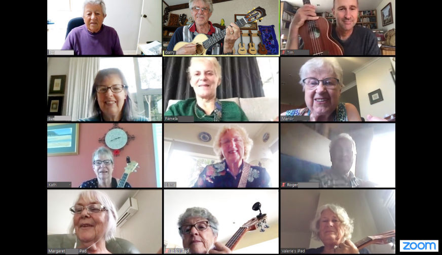 Browns Bay U3A Ukulele Group