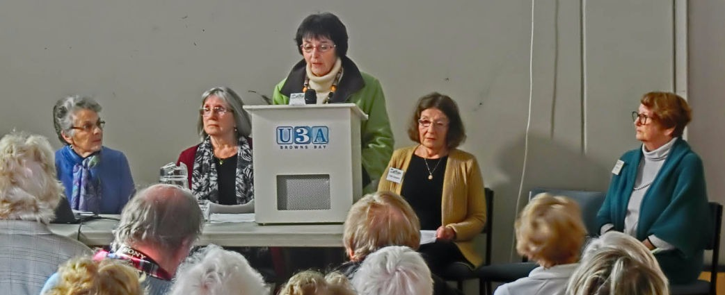 U3A Browns Bay Short Story Writers Presentations